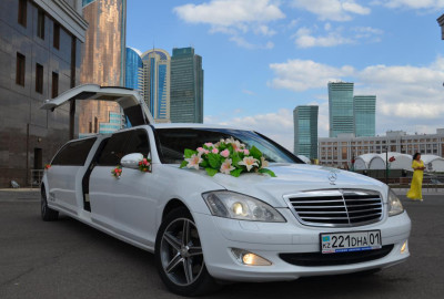 Mercedes-Benz S-class W221 Limousine Lease in Astana   +7 701 728 57 41