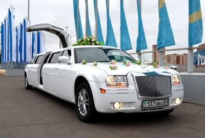 Chrysler 300C Limousine Rent in Astana   +7 701 728 57 41