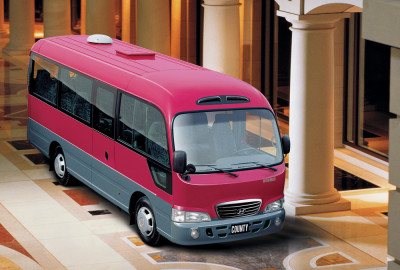 Hyundai County Bus Rent in Astana   +7 701 728 57 41