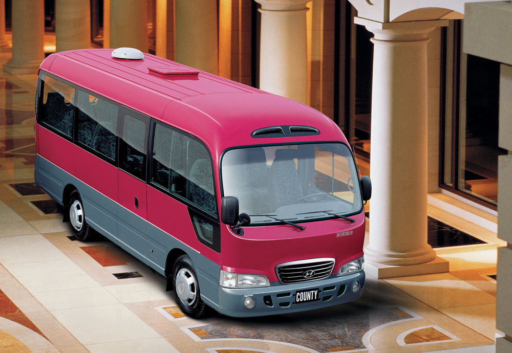 hyundai county bus rent in astana toplimo kz. Black Bedroom Furniture Sets. Home Design Ideas