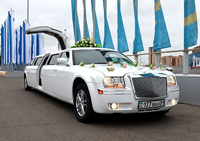Chrysler 300C Limousine Rent in Astana | +7 701 728 57 41