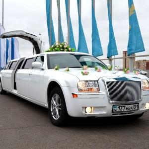 Аренда лимузина Chrysler 300C в Астане | +7 701 728 57 41