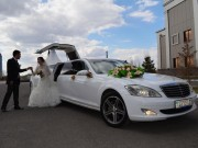 Аренда лимузина Mercedes-Benz S-class W221 в Астане | +7 701 728 57 41